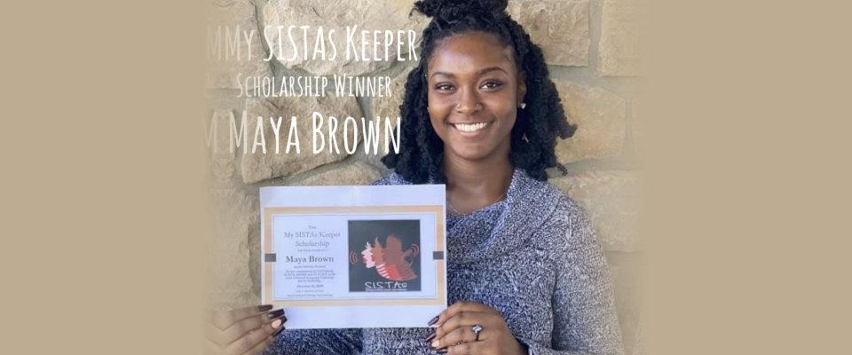 my sistas keeper maya brown